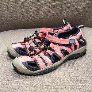 Keen Girls Pink Newport H2 kids water sandals